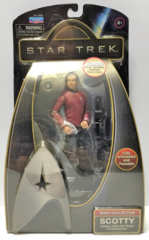 (TAS034027) - 2009 Playmates Star Trek Warp Collection Figure - Scotty, , Action Figure, Star Trek, The Angry Spider Vintage Toys & Collectibles Store  - 1