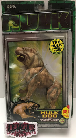 (TAS037148)  - 2003 Toy Biz Marvel Action Figure - Hulk Dog With Snarl