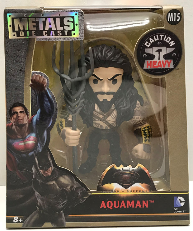 "TAS041152 - 2016 Jada Toys Metals Die-Cast Batman v Superman - 4"" Aquaman M15"