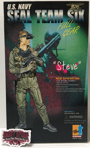 "(TAS035402) - 2000 Dragon U.S. Navy Seal Team Six ""Steve"" Action Figure"