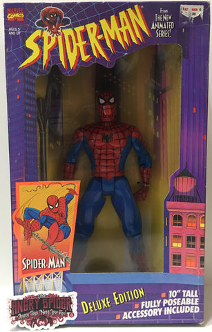 "(TAS035403) - 1994 Toy Biz Spider-Man Deluxe Edition 10"" Action Figure"