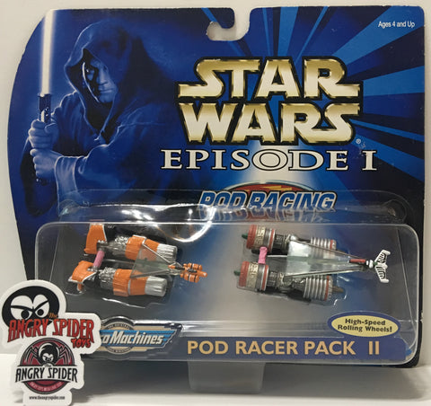 (TAS035406) - 1999 Galoob Micro Machines Star Wars Pod Racer Pack II