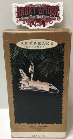 (TAS035407) - 1995 Hallmark Space Shuttle Stringer! Lighter Magic Keepsake Ornam