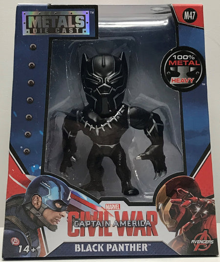 TAS039782 - 2016 Jada Toys Die-Cast Marvel Civil War Captain America - Black Panther