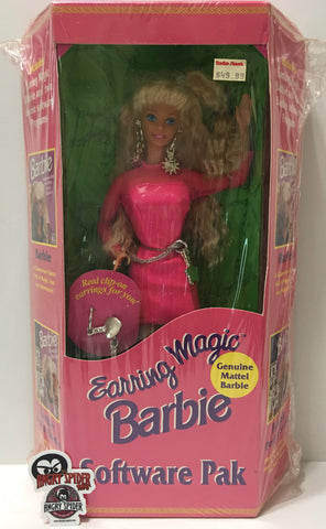 (TAS035409) - 1991 Mattel Earring Magic Barbie Software Pack