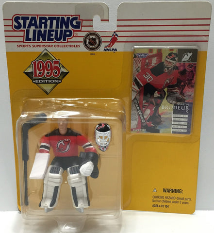 (TAS034083) - 1995 NHL Kenner Starting Lineup Sports Superstar - Martin Brodeur, , Action Figure, Starting Lineup, The Angry Spider Vintage Toys & Collectibles Store  - 1