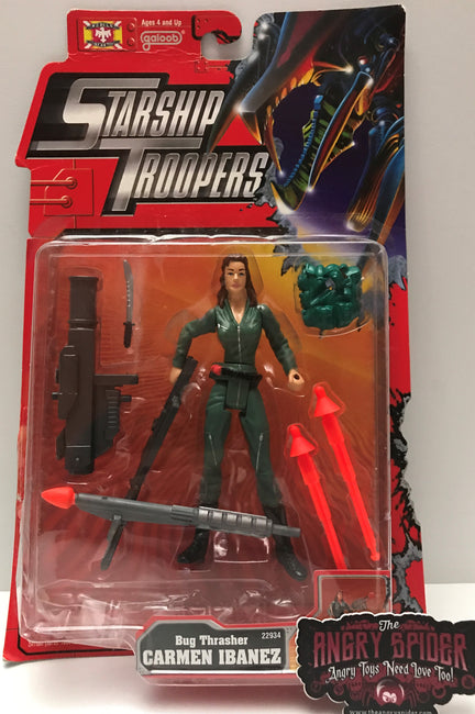 (TAS021420) - 1997 Galoob Starship Troopers Action Figure - Big Thrasher Carmen
