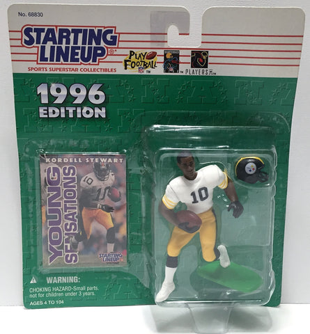 (TAS034082) - 1996 Hasbro Starting Lineup Sports Superstar - Kordell Stewart, , Action Figure, Starting Lineup, The Angry Spider Vintage Toys & Collectibles Store  - 1