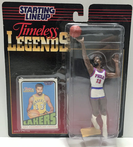 (TAS034084) - 1995 NBA Kenner Starting Lineup Timeless Legends - Wilt Chamberlain, , Action Figure, Starting Lineup, The Angry Spider Vintage Toys & Collectibles Store  - 1