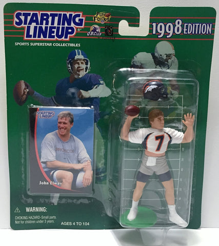 (TAS034072) - 1998 Hasbro Starting Lineup Sports Superstar - John Elway, , Action Figure, Starting Lineup, The Angry Spider Vintage Toys & Collectibles Store  - 1