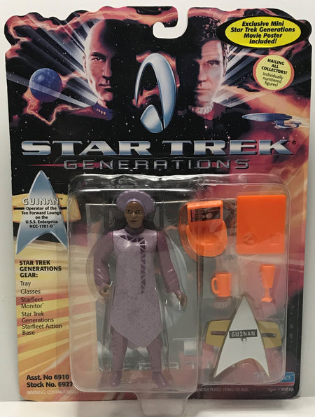 TAS041222 - 1994 Playmates Toys Star Trek Generations - Guinan Action Figure