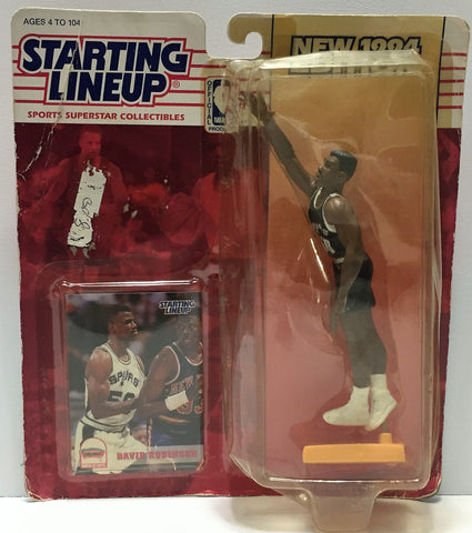 (TAS034073) - 1994 Kenner Starting Lineup Sports Superstar - David Robinson, , Action Figure, Starting Lineup, The Angry Spider Vintage Toys & Collectibles Store  - 1
