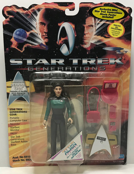 TAS041223 - 1994 Playmates Toys Star Trek Generations - Commander Deanna Troi