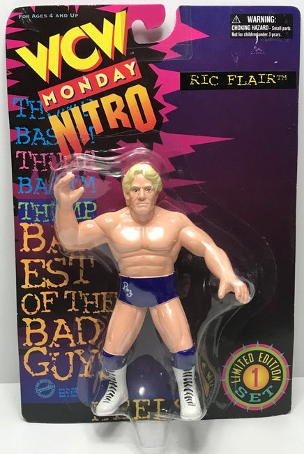 TAS041224 - 1997 OSFT WCW WWE Monday Nitro Action Figure - Ric Flair