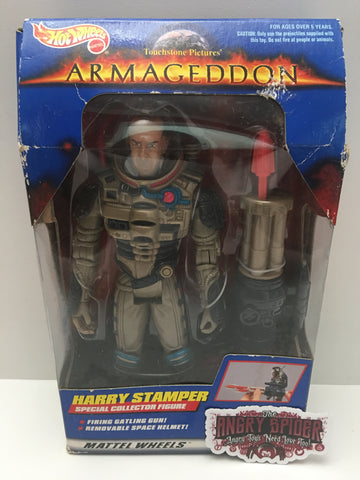 TAS037551 - 1997 Mattel Hot Wheels Armageddon Harry Stamper Figure