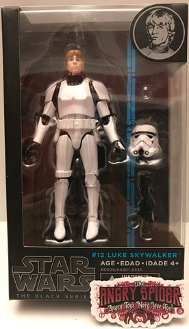 (TAS021427) - 2014 Hasbro Star Wars The Black Series - #12 Luke Skywalker