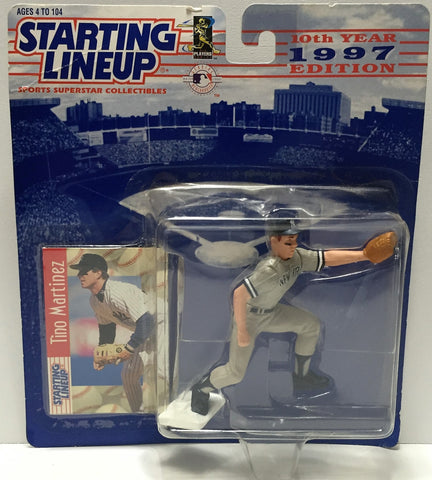 (TAS034102) - 1996 Hasbro Starting Lineup Sports Superstar - Tino Martinez, , Action Figure, Starting Lineup, The Angry Spider Vintage Toys & Collectibles Store  - 1