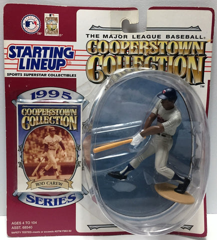 (TAS034109) - 1995 Kenner Starting Lineup Sports Superstar - Rod Carew, , Action Figure, Starting Lineup, The Angry Spider Vintage Toys & Collectibles Store  - 1