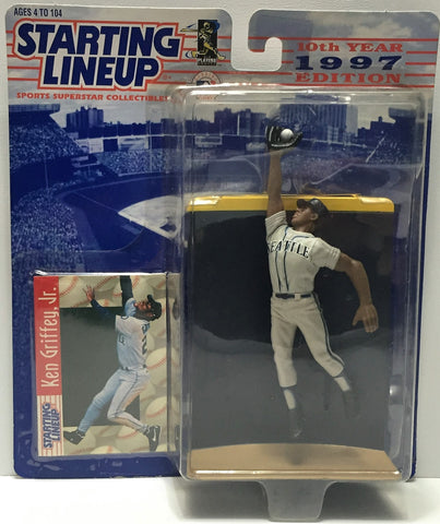 (TAS034106) - 1997 Hasbro Starting Lineup Sports Superstar - Ken Griffey Jr, , Action Figure, Starting Lineup, The Angry Spider Vintage Toys & Collectibles Store  - 1