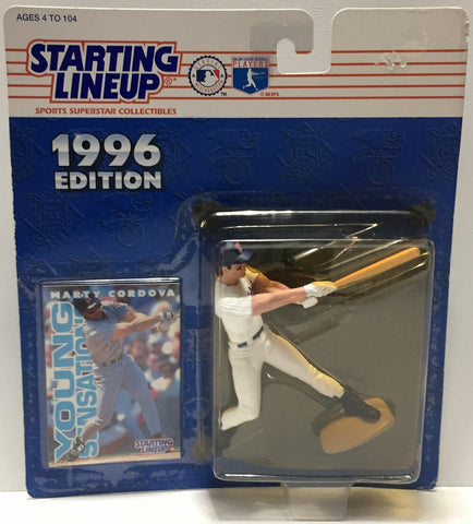 (TAS034090) - 1996 Kenner Starting Lineup Sports Superstar - Marty Cordova, , Action Figure, Starting Lineup, The Angry Spider Vintage Toys & Collectibles Store  - 1