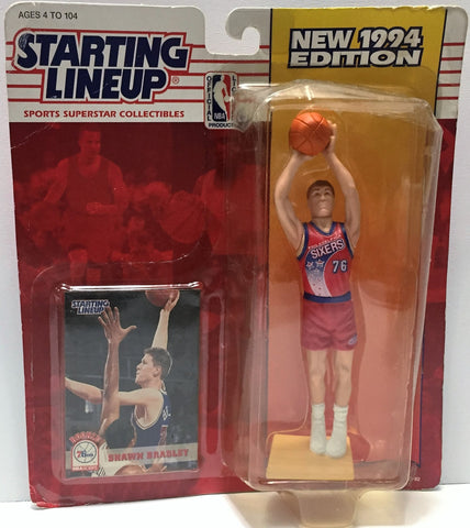 (TAS034092) - 1994 Kenner Starting Lineup Sports Superstar - Shawn Bradley, , Action Figure, Starting Lineup, The Angry Spider Vintage Toys & Collectibles Store  - 1