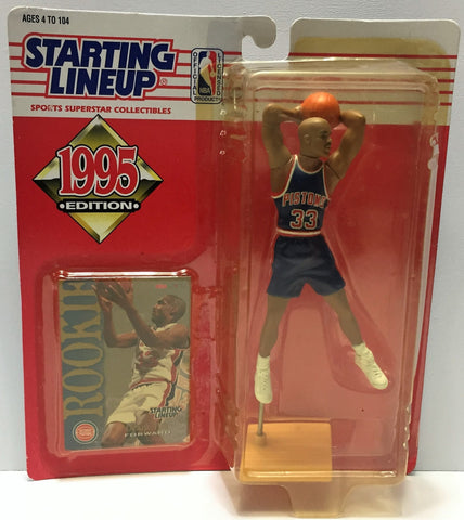 (TAS034099) - 1995 Kenner Starting Lineup Sports Superstar - Grant Hill, , Action Figure, Starting Lineup, The Angry Spider Vintage Toys & Collectibles Store  - 1