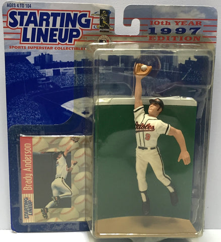 (TAS034093) - 1997 Hasbro Starting Lineup Sports Superstar - Brady Anderson, , Action Figure, Starting Lineup, The Angry Spider Vintage Toys & Collectibles Store  - 1