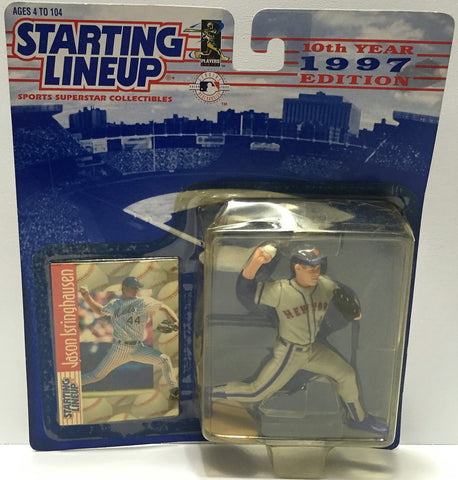 (TAS034078) - 1997 Hasbro Starting Lineup Sports Superstar - Jason Isringhausen, , Action Figure, Starting Lineup, The Angry Spider Vintage Toys & Collectibles Store  - 1
