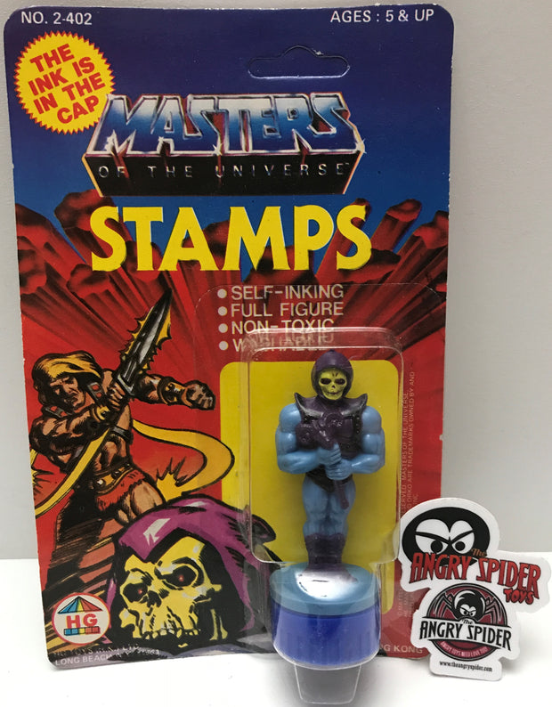 TAS037411 - 1984 HG Toys MOTU Ink Stamps - Skeletor