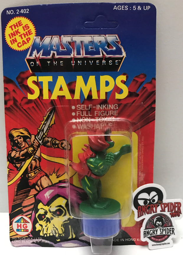 TAS037413 - 1984 HG Toys Masters Of The Universe Ink Stamps - BattleCat
