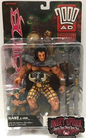 TAS037450 - 1999 Re:Action 2000 AD Action Figure - Slaine & Ukko