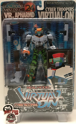 TAS037452 - 1995 Sega Real Mode Cyber Troopers - VR. Apharmd Virtual-On