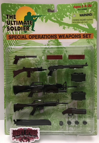 TAS037456 - 1997 21st Century Toys - The Ultimate Soldier Weapons Set