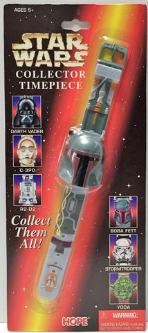 (TAS037165) - 1996 Star Wars Collector Time Piece - Boba Fett