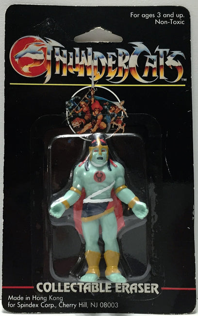 (TAS037171) - 1986 Spindex Thundercats Collectable Eraser
