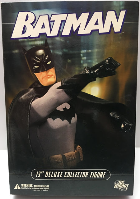 "(TAS036000) - DC Direct Batman 13"" Deluxe Collector Figure 1:6 Scale"