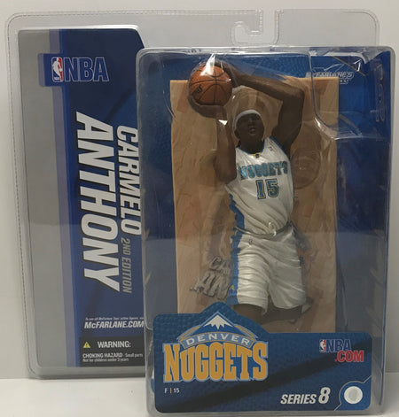 TAS041369 - 2005 McFarlane Toys NBA Denver Nuggets - Carmelo Anthony 2nd Edition