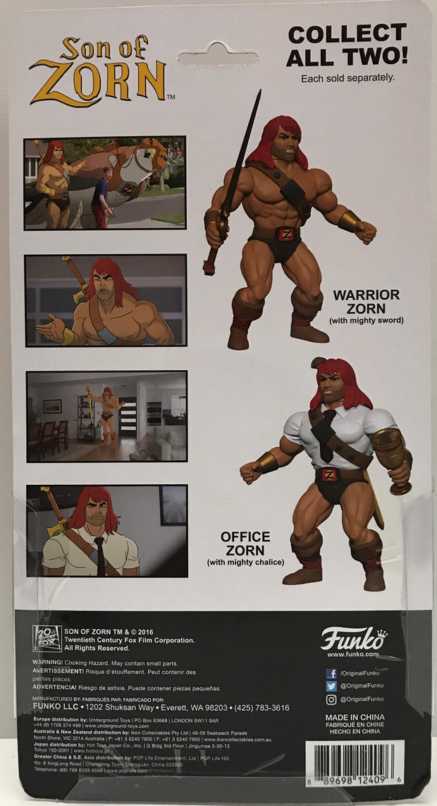 Funko Son Of Zorn Office Zorn Action Figure NEW Toys Collectibles IN STOCK