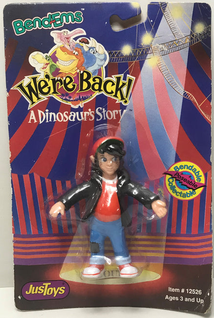 TAS041373 - 1992 Just Toys Bend-Ems We're Back! A Dinosaur's Story Action Figure