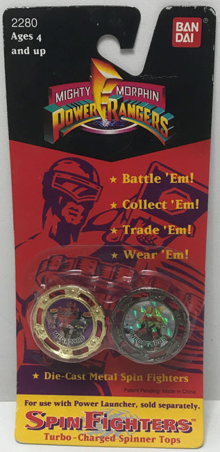 TAS041377 - 1994 Bandai Mighty Morphin Power Rangers Series II Spin Fighters Megazord