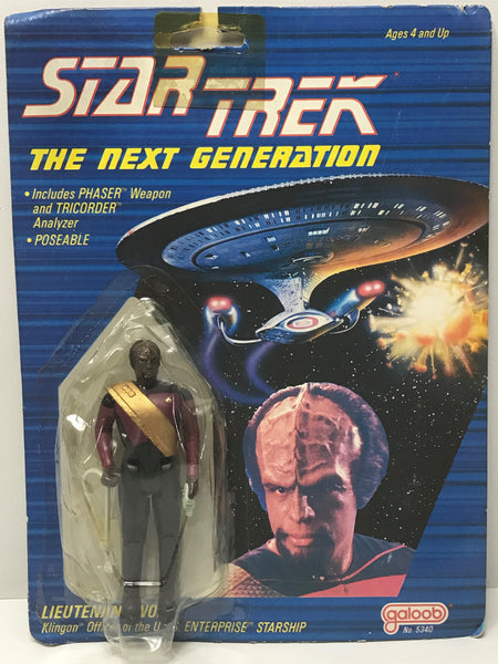 TAS041383 - 1988 Galoob Star Trek The Next Generation Lieutenant Worf