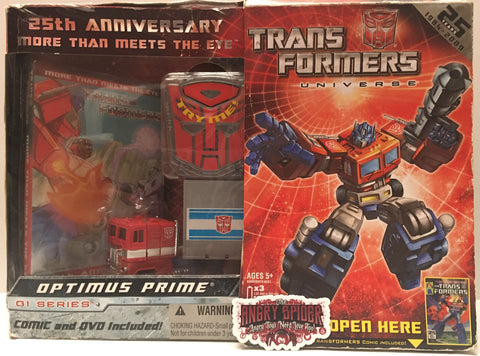 (TAS036020) - 2008 Hasbro 25th Anniversay Transformers Optimus Prime G1 Series