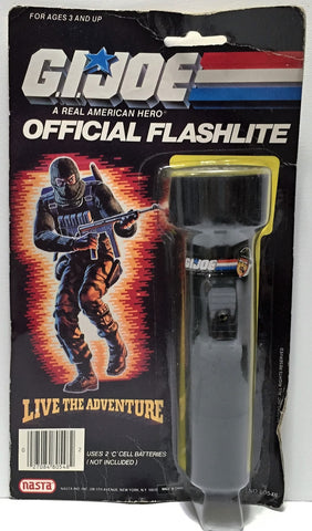 (TAS037214) - Nasta G.I. Joe Official Flashlite Sgt. Slaughter
