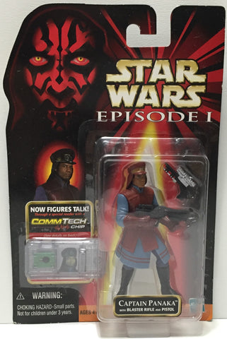(TAS037217) - 1999 Hasbro Star Wars Episode I - Captain Panaka w/CommTech