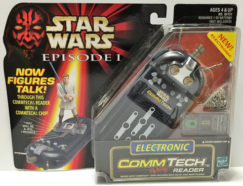 (TAS037225) - 1998 Hasbro Star Wars Episode I Electronic CommTech Reader