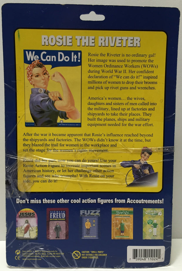 (TAS037238) - 2003 Accoutrements Figure - Rosie The Riveter