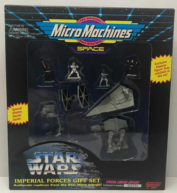TAS041349 - 1994 Galoob Star Wars Micro Machines Space Imperial Forces Gift Set