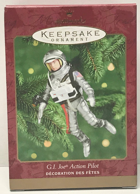TAS041351 - 2000 Hallmark Keepsake Christmas Ornament G.I. Joe Action Pilot