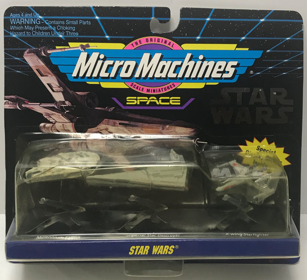 TAS041356 - 1994 Galoob Star Wars Micro Machines Space Collection #1