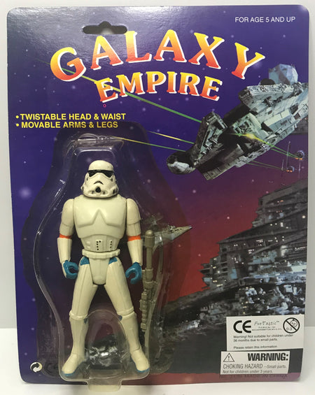 TAS041360 - Fun-Tastic Galaxy Empire (Generic Star Wars) - Stormtrooper Figure